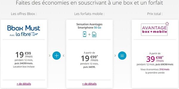Les offres Box + mobile permettent de faire des économies mais seulement la 1ère année.
