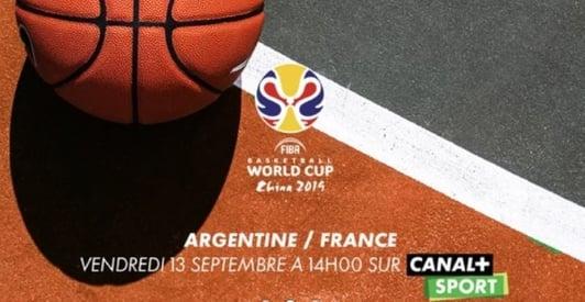 Quelle chaîne diffuse Argentine France en demi-finale de coupe du monde de basket vendredi ?