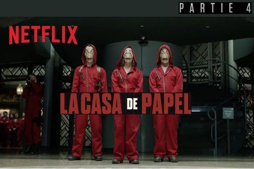 La partie 4 de La Casa de Papel sera disponible le 3 avril sur Netflix