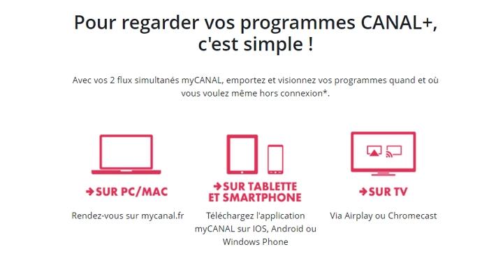 Différents moyens de regarder canal + avec Netflix en streaming