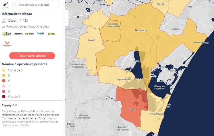 Emeraude THD : lancement des offres fibre optique dans l'Aude à Sigean