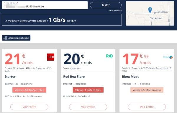 Moselle : les offres fibre de SFR arrivent sur Resoptic
