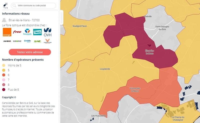 Free fibre : éligibilité aux offres Freebox Très haut débit arrivent dans la Sarthe