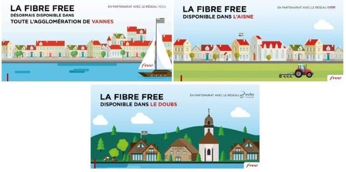 La fibre Free arrive en zone rurale