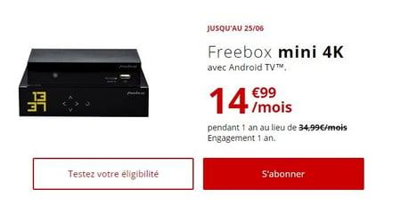 Offre ADSL Freebox avec télévision en 2019