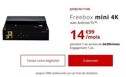 Offre Internet Freebox