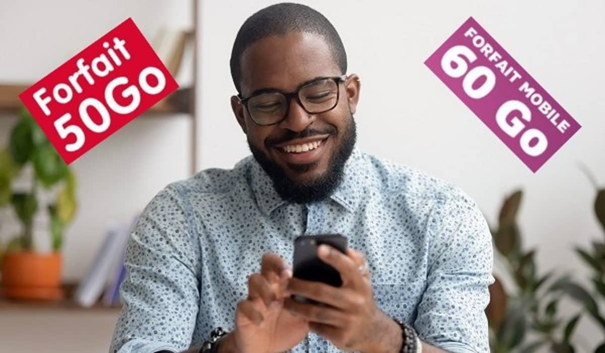 Les forfaits Mobiles en promo avec 50 ou 60 Go de data sont les plus attractifs