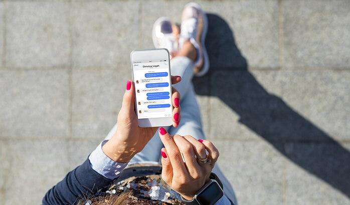 Le SMS progressivement remplacé par l'utilisation des applications de messagerie