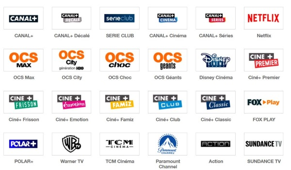 Offre Orange : les chaines canal cinéma séries