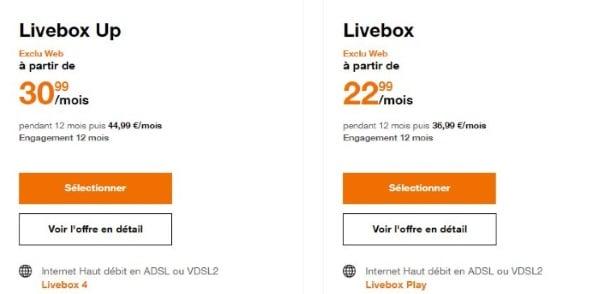 Le prix des offres Internet Orange ADSL augmente en octobre 2019