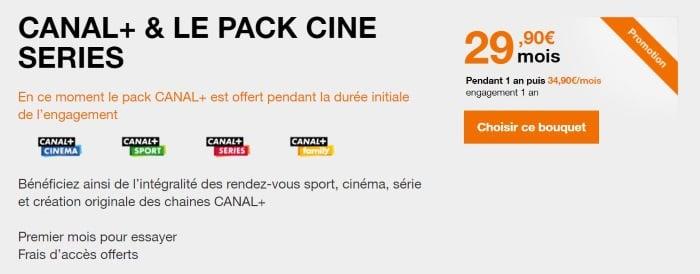 Box Orange : l'offre Canal avec Netflix à prix promo