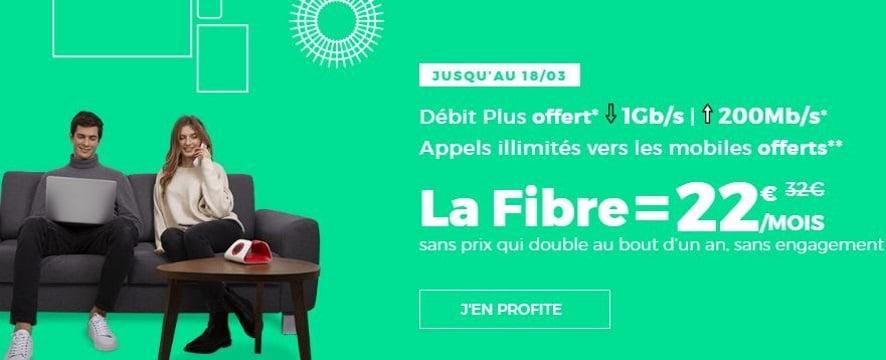 Box fibre : comparatif des offres Internet RED et Sosh