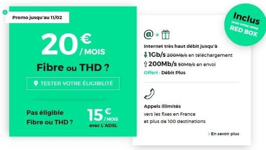Box pas cher : l'offre RED Box à petit prix sans limite de durée
