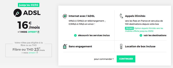 Des bonus offerts sur l'offre box RED ADSL jusqu'au 3 février 2020