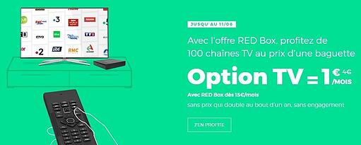 Box RED avec option TV