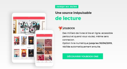 Box RED : le service Youboox offert