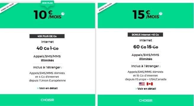Forfait mobile RED : comparatif des offres