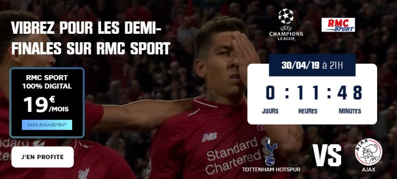 Demi-finales de Ligue des Champions Streaming