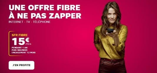 Internet en fibre optique chez SFR à prix promotionnel en juillet 2019