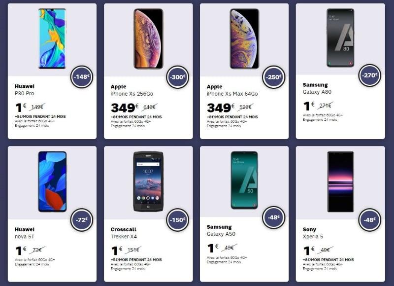 SFR : Huawei P30 Pro pas cher et Apple XS en promo pour le Black Friday