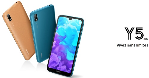Le Huawei Y5 est offert avec le forfait mobile 60 Go NRJ Mobile en promotion.