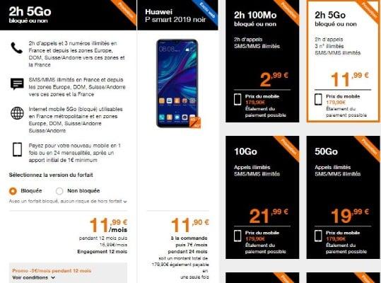 Soldes été 2019 : téléphone pas cher chez orange