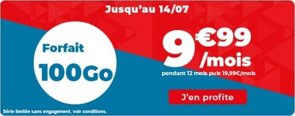 La nouvelle série limitée de Auchan télécom embarque 100 Go pour seulement 9,99€/mois