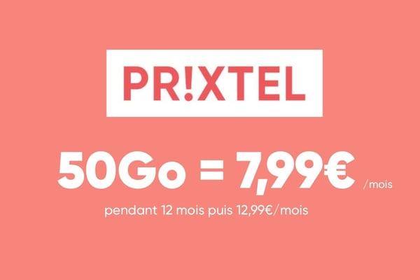 La Giga série, c'est un forfait mobile 50 Go à seulement 7,99€/mois