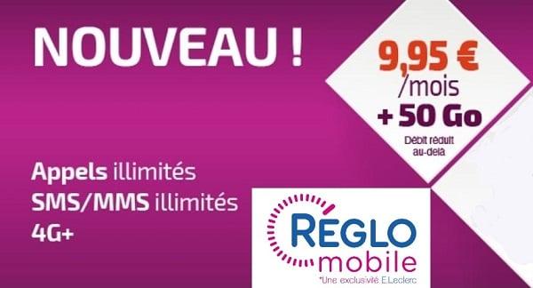 Le forfait Réglo Mobile 50 Go est le meilleur forfait mobile du moment