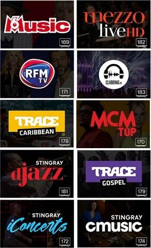Les 10 chaînes musicales offertes en clair par Bouygues Telecom pour la fête de la musique