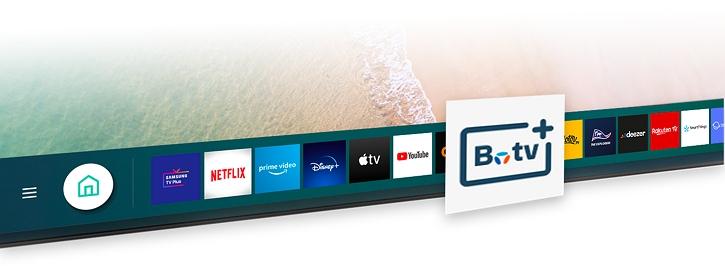 Application TV Bouygues sur une Smart TV Samsung : b.tv+