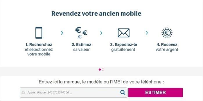 Bouygues Telecom a un programme de reprise de votre ancien téléphone