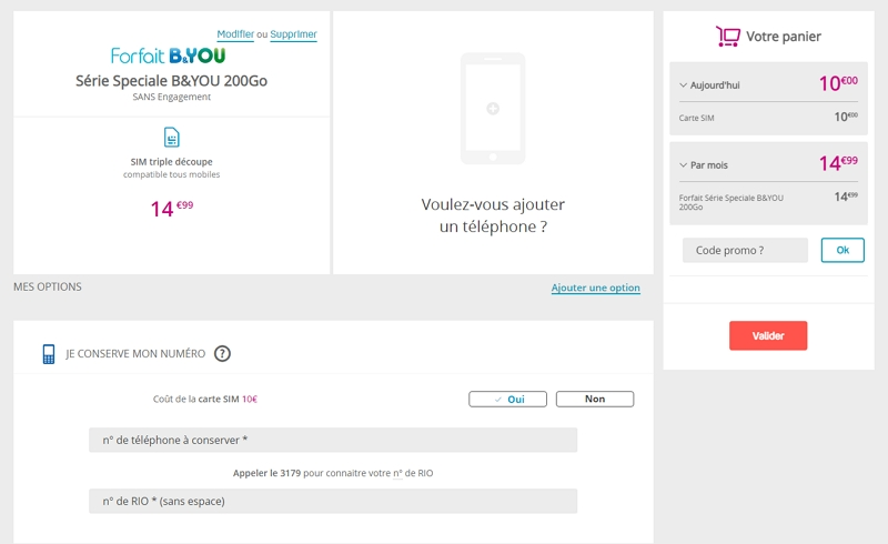 Forfait Bouygues : conserver son numéro mobile lors de la souscription