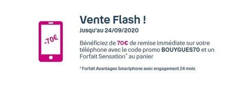 Vente Flash sur l'iPhone 11 chez Bouygues Télécom