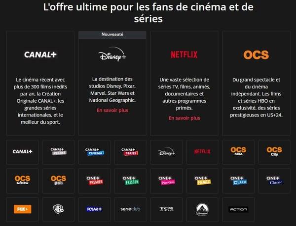 Canal+ et le pack Ciné Séries, la meilleure offre de SVod