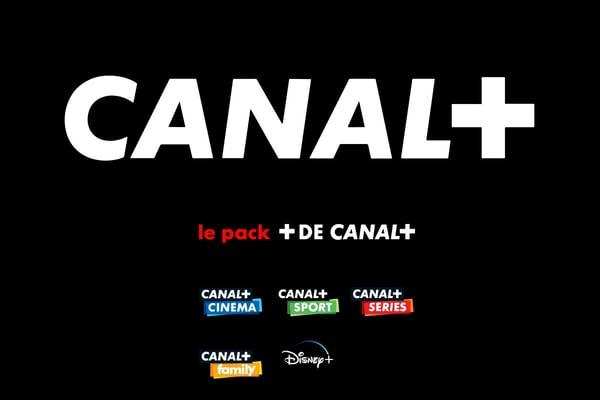 Canal+ et le pack+ est au prix de 24,90€/mois