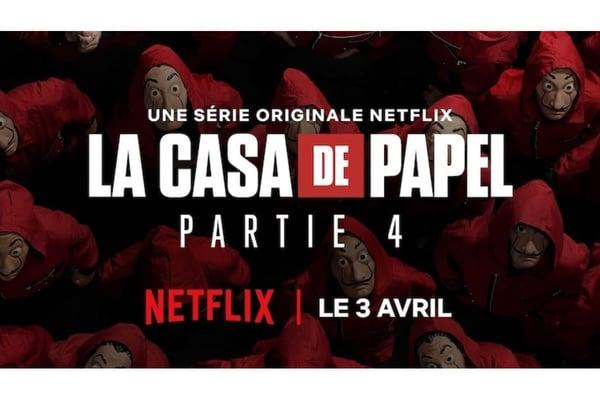 La Casa de Papel est une création originale Netflix