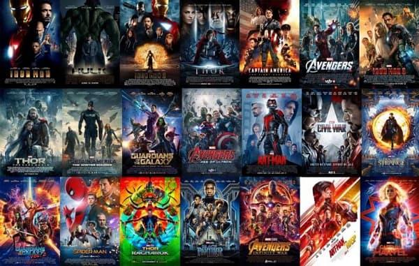 Les films de la franchise Marvel font partie des contenus Disney+