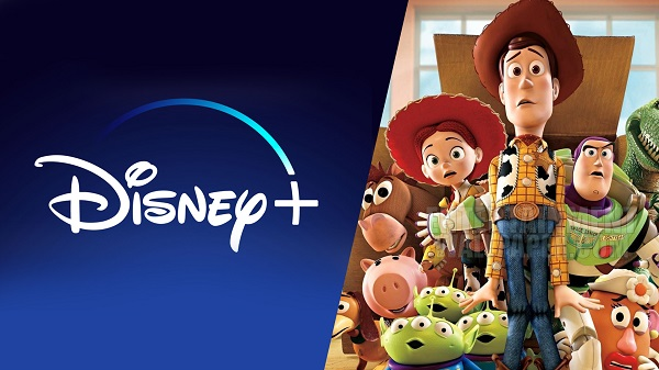 Les films des studios Pixar font partie des contenus Disney+