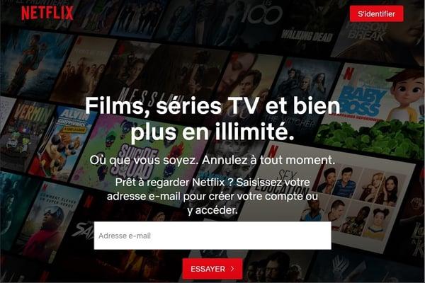 Netflix, leader mondial de la SVoD