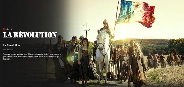 Netflix se penche sur la Révolution française