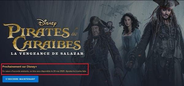 Pirates des Caraïbes 5 sur Disney+ : la Vengeance de Salazar est enfin disponible