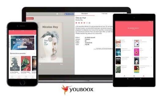 Youboox de retour en option pour tous les abonnés Freebox et Free Mobile
