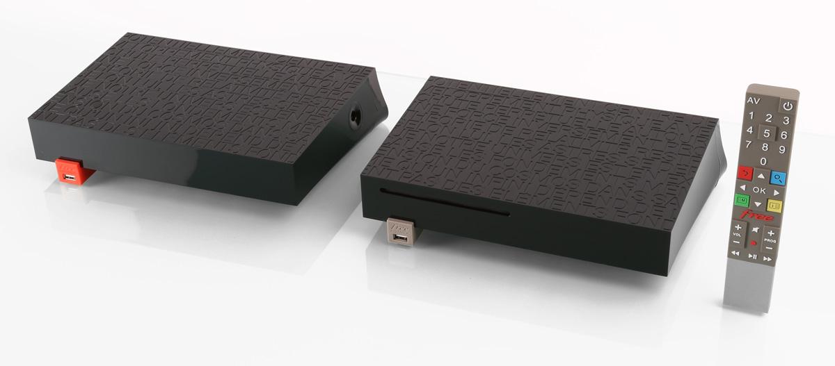 Freebox Révolution : Serveur, Player et télécommande