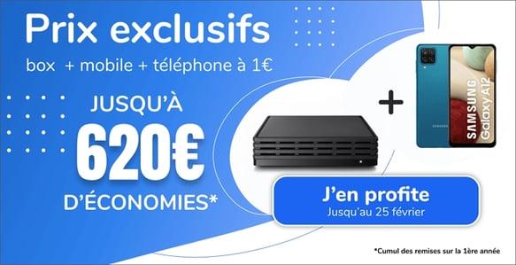 Jusqu'à 620 euros d'économies avec la vente privée Internet et mobile d'Ariase