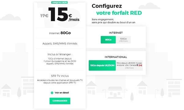 Les forfait mobile RED reste malgré tout l'un des meilleurs forfaits mobile du moment