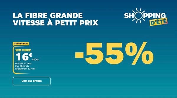 la box SFR est à 16€/mois