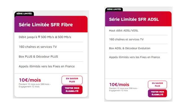 Avec la série limitée Welcome Back de SFR, vous avez une box Internet pour seulement 10€/mois.