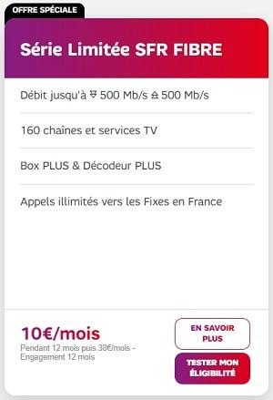 """La série limitée """"Welcome Back"""" de SFR est à 10€/mois"""