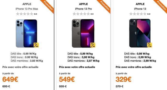 Il est possible d'avoir une réduction sur un smartphone 5G en l'achetant via votre opérateur télécom